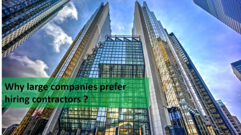 Why Large Companies Prefer Hiring Contractors vs. Permanent Employees
